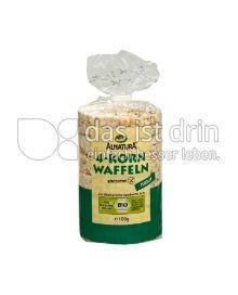 Produktabbildung: Alnatura 4-Korn Waffeln 100 g