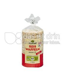Produktabbildung: Alnatura Reis Waffeln natur 100 g
