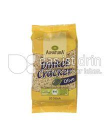 Produktabbildung: Alnatura Dinkel Cracker Olive 100 g