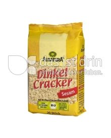 Produktabbildung: Alnatura Dinkel Cracker Sesam 100 g