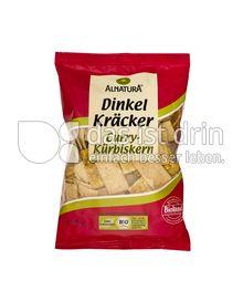 Produktabbildung: Alnatura Dinkel Kräcker Curry-Kürbiskern 175 g