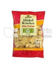 Produktabbildung: Alnatura Dinkel Kräcker Käse-Zwiebel 175 g