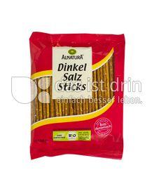 Produktabbildung: Alnatura Dinkel Salz Sticks 100 g