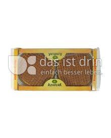 Produktabbildung: Alnatura Honigwaffeln 175 g