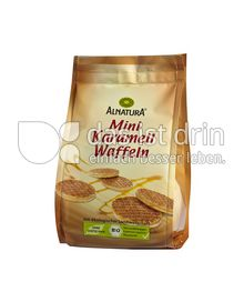 Produktabbildung: Alnatura Mini Karamell Waffeln 150 g