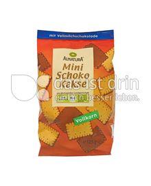 Produktabbildung: Alnatura Mini Schoko Kekse 125 g