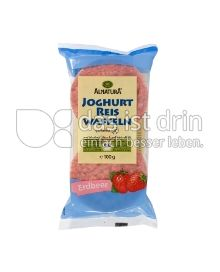 Produktabbildung: Alnatura Joghurt Reis Waffeln Erdbeer 100 g