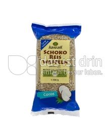 Produktabbildung: Alnatura Schoko Reis Waffeln Cocos 100 g