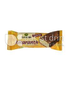 Produktabbildung: Alnatura Amaranth Zartbitter 25 g
