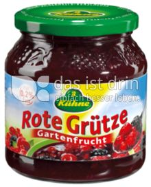 Produktabbildung: Kühne Rote Grütze Gartenfrucht 500 g