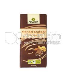 Produktabbildung: Alnatura Mandel Krokant Vollmilch 100 g