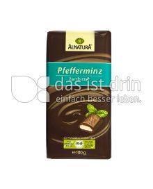 Produktabbildung: Alnatura Pfefferminz Zartbitter 100 g