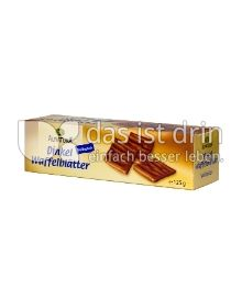Produktabbildung: Alnatura Dinkel Waffelblätter Vollmilch 125 g