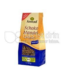 Produktabbildung: Alnatura Schoko Mandel Knusper Vollmilch 100 g