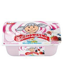 Produktabbildung: frischli Leckermäulchen Beerenkörbchen 150 g