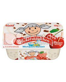 Produktabbildung: frischli Leckermäulchen Stracciatella auf Kirsch 150 g