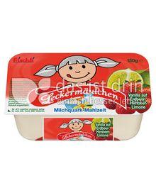 Produktabbildung: frischli Leckermäulchen Vanilla auf Erdbeer-Himbeer-Limone 150 g