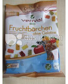 Produktabbildung: verival BIO Fruchtbärchen ohne Gelatine 100 g