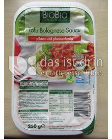 Produktabbildung: BioBio Tofu-Bolognese-Sauce 250 g