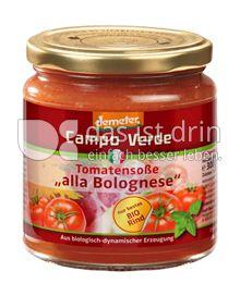"""Produktabbildung: Campo Verde Tomatensoße """"alla Bolognese"""" 300 g"""