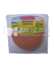 Produktabbildung: Naumburger Sächsischer Leberkäse 200 g