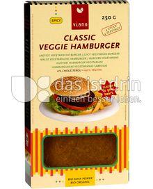 Produktabbildung: Viana Classic Veggie Hamburger 250 g