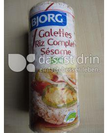 Produktabbildung: Bjorg Galettes Riz Complet Sésame 130 g