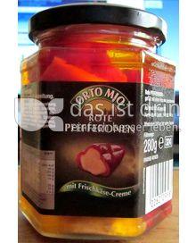 Produktabbildung: Orto Mio Rote Pfefferonen mit Frischkäsecreme 280 g