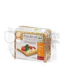 Produktabbildung: Alnavit Reisbrot Bio Reisbrot mit Vollreis und Hirse 375 g