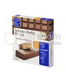 Produktabbildung: Alnaviva Schoko Waffel Riegel 75 g