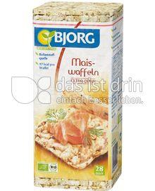 Produktabbildung: Bjorg Mais-Waffeln 28 St.