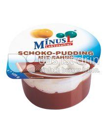 Produktabbildung: MinusL Schoko-Pudding mit Sahne 125
