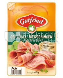 Produktabbildung: Gutfried Geflügel-Bierschinken 80 g