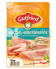 Produktabbildung: Gutfried Geflügel-Kräuterpastete 80 g