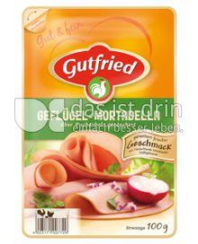 Produktabbildung: Gutfried Geflügel-Mortadella 100 g