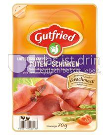 Produktabbildung: Gutfried Luftgetrockneter Puten-Schinken 70 g