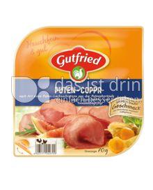 Produktabbildung: Gutfried Puten-Coppa 70 g