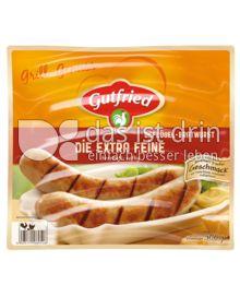 Produktabbildung: Gutfried Die extra feine Geflügel-Bratwurst 500 g