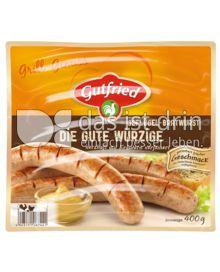Produktabbildung: Gutfried Die gute würzige Geflügel-Bratwurst 400 g