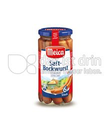 Produktabbildung: Meica Saft-Bockwurst 6 St.