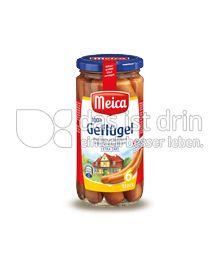 Produktabbildung: Meica 100% Geflügel Würstchen in Eigenhaut 6 St.