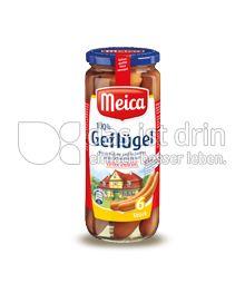 Produktabbildung: Meica 100% Geflügel Würstchen im Saitling 6 St.