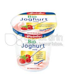 Produktabbildung: Heirler Bio Joghurt mild Himbeere 150 g