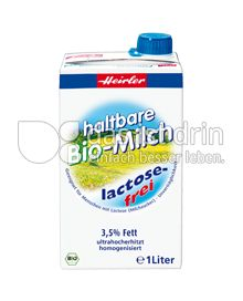 Produktabbildung: Heirler Haltbare Bio-Milch 1 l