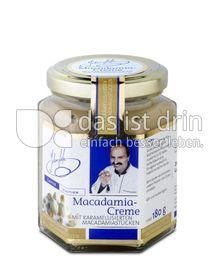 Produktabbildung: Johann Lafer Macadamia-Creme mit karamellisierten Macadamiastücken 180 g
