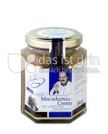 Produktabbildung: Johann Lafer Macadamia-Creme mit gerösteten Kakaokernen 180 g