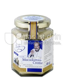 Produktabbildung: Johann Lafer Macadamia-Creme mit feinen Knusperstückchen 180 g