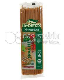 Produktabbildung: Bio Greno Naturkost Spaghetti Vollkorn 500 g