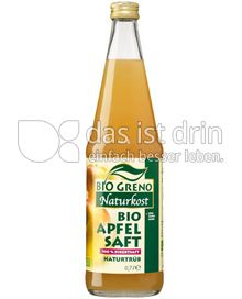 Produktabbildung: Bio Greno Naturkost Bio Apfel Saft Naturtrüb 0,7 l