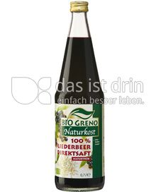 Produktabbildung: Bio Greno Naturkost 100% Fliederbeer Direktsaft 0,7 l
